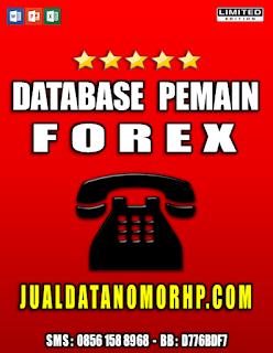 Jual Database Nasabah Pemain Forex