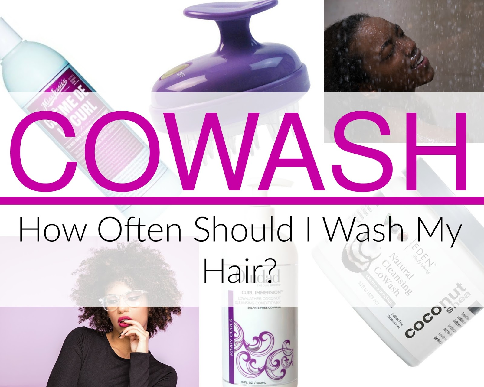 Click here to buy SHEAMOISTURE COWASH CONDITIONING CLEANSER, an excellent cowasher for natural hair.