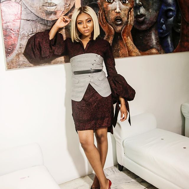 Stunning And Surprising New Looks: Stephanie Coker Goes Blonde, Looks Stunning In New Photos