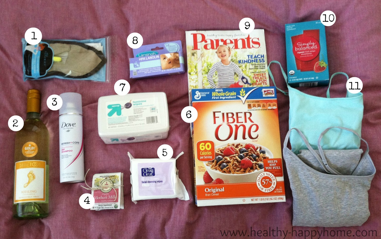 Healthy Happy Home: New Mom Gift Basket