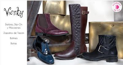 Zapatos mujer Vienty