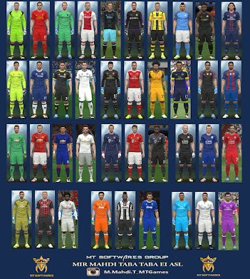PES 2016 New Kit 2016-17 v.1.6 by MT Games 1991