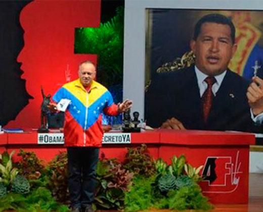 """Los saqueos son """"programados"""" por """"la derecha"""", dice Diosdado"""