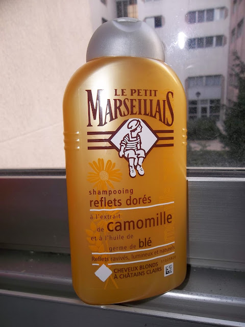 Shampooing Reflets Dorés Camomille et Blé - Le Petit Marseillais