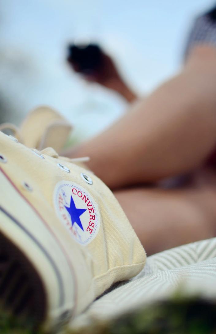 Converse High Top Vintage  Sneakers