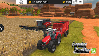 تحميل لعبة مزرعة الحصاد Farming simulator 18  مدفوعة مجاناً بآخر اصدار