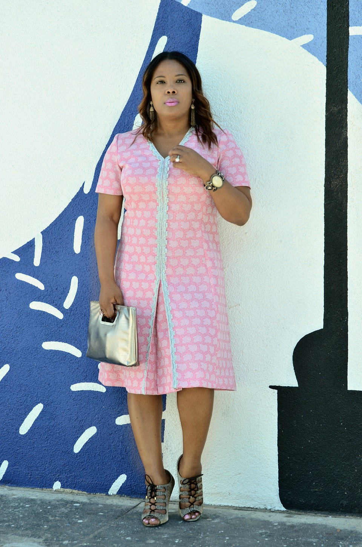 A Nod to 60's Mod Style Dress - Audrey Hepburn Style