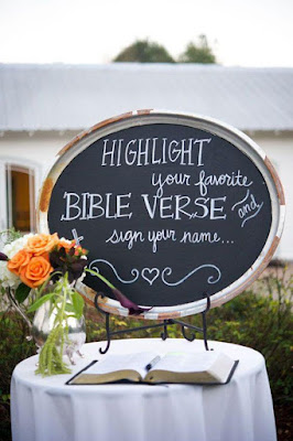 Favorite Bible Verse Guest Book