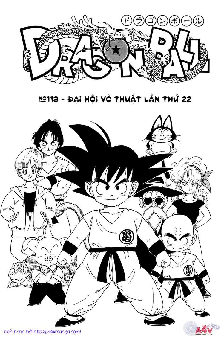 Dragon Ball chap 113 trang 3