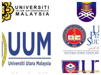 Permohonan Kemasukan UA Ambilan Kedua Sesi 2017/2018