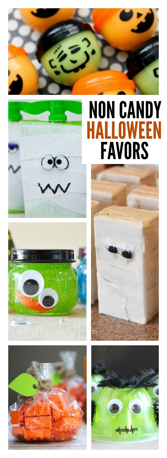 35 NON CANDY HALLOWEEN PARTY FAVORS FOR KIDS- so many creative ideas!