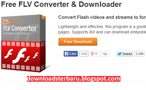 Free FLV Converter Download