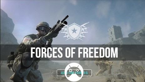 Download Forces Of Freedom MOD Infinity Ammo Apk + Data