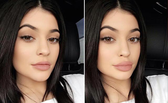 Tips Membuat Bibir Tipis Jadi Lebih Bervolume ala Kylie Jenner
