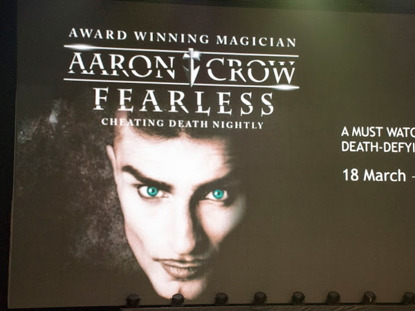 Aaron Crow Fearless Sneak Preview @ Resorts World Genting
