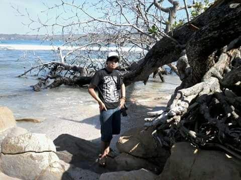 Pantai sawarna Bayah Lebak
