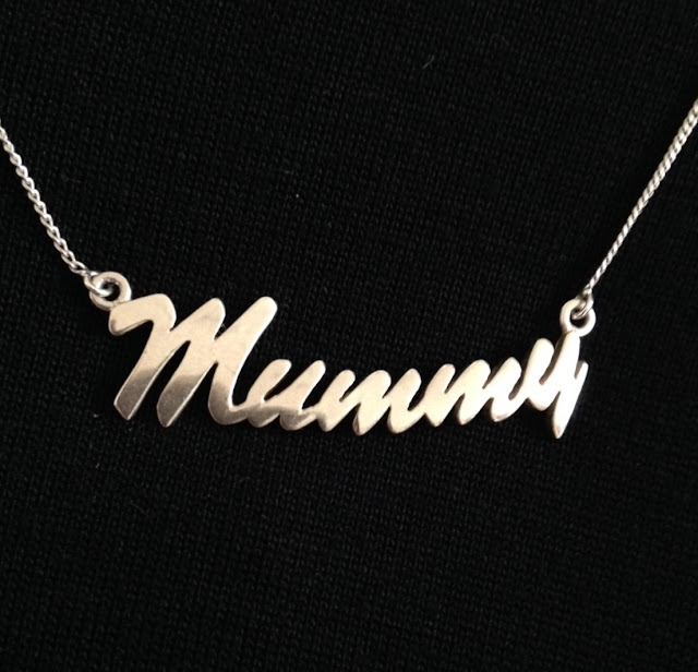 Silver Mummy necklace