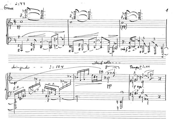 ぴあのピアノ♪: ヨセフ・タルのピアノソナタ