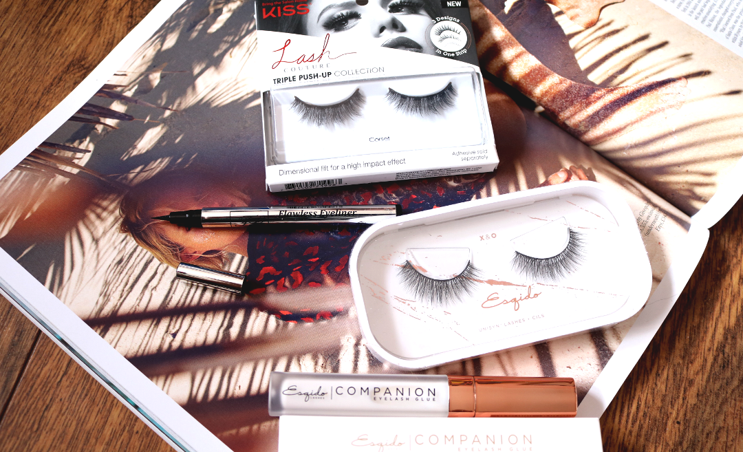 Lashes & Liner Faves from Esqido, KISS & Loreta - Try-On Review