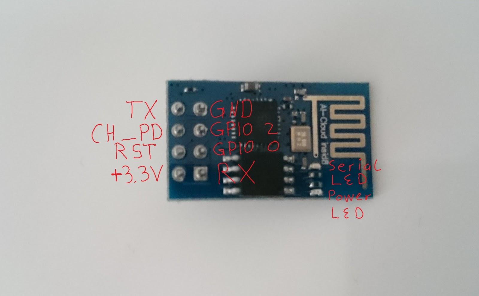 michaelsarduino: LED über Internet steuern mit ESP 8266