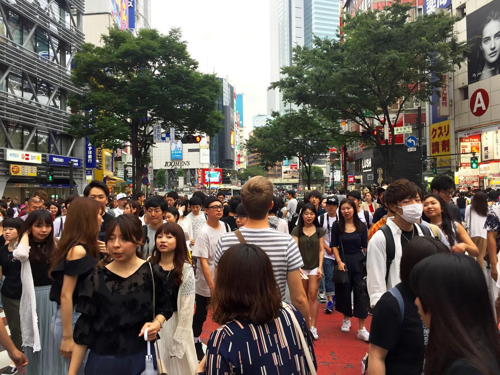 voyage travel au blog japon à Tokyo Shibuya  pleins de belle photographies temples et sanctuaires