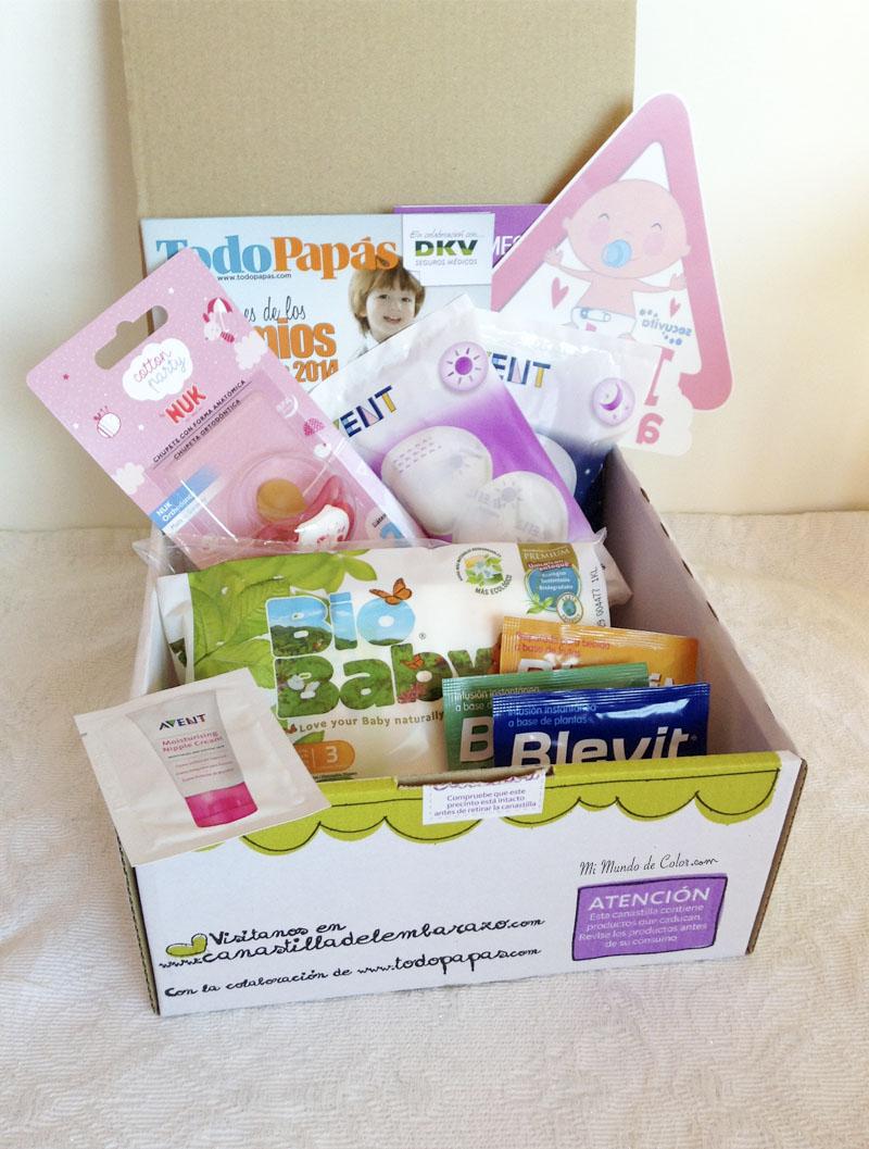 canastillas del embarazo gratis de todo papas