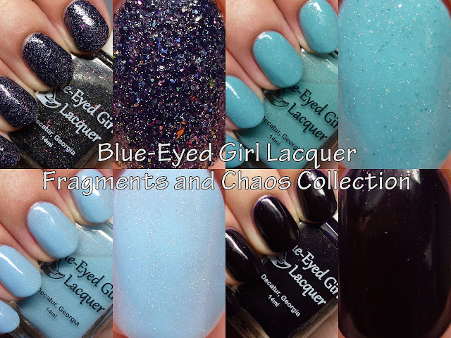 Blue-Eyed Girl Lacquer Fragments and Chaos Collection
