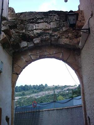 Portal del Pilar desde dentro