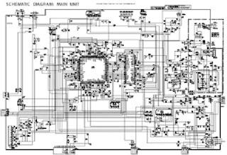 Skema TV SHARP STR W6753 IXB226WJ M61260AF