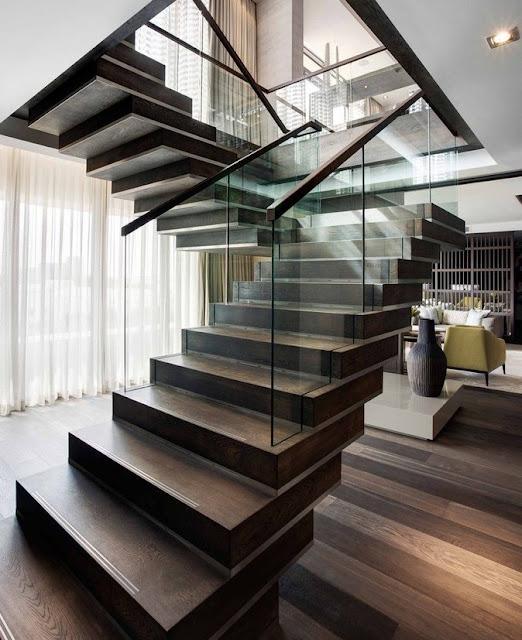 thiết kế cầu thang đẹp - mẫu số 5