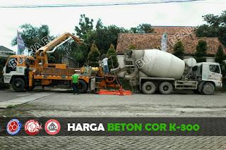 Harga Beton Cor K-300