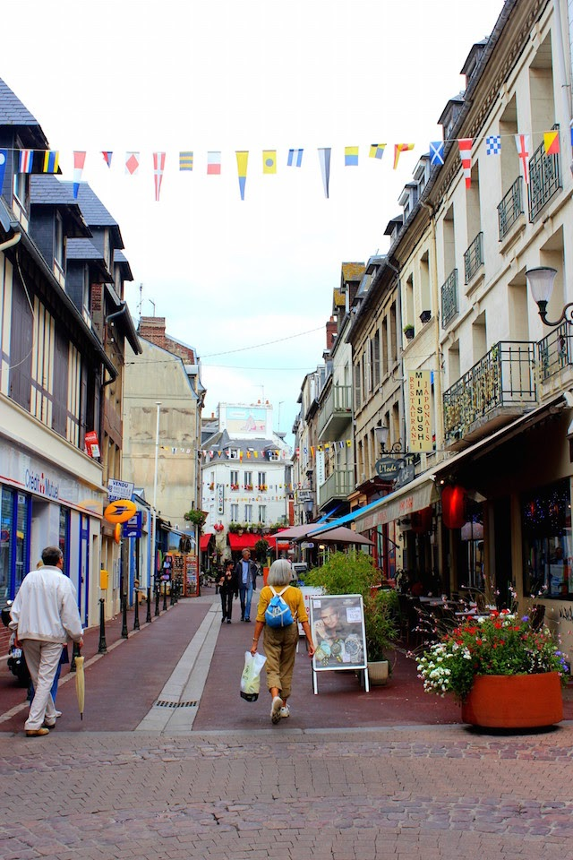 Wandering Trouville little streets