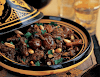 Moroccan lamb tagine with dates and pistachios