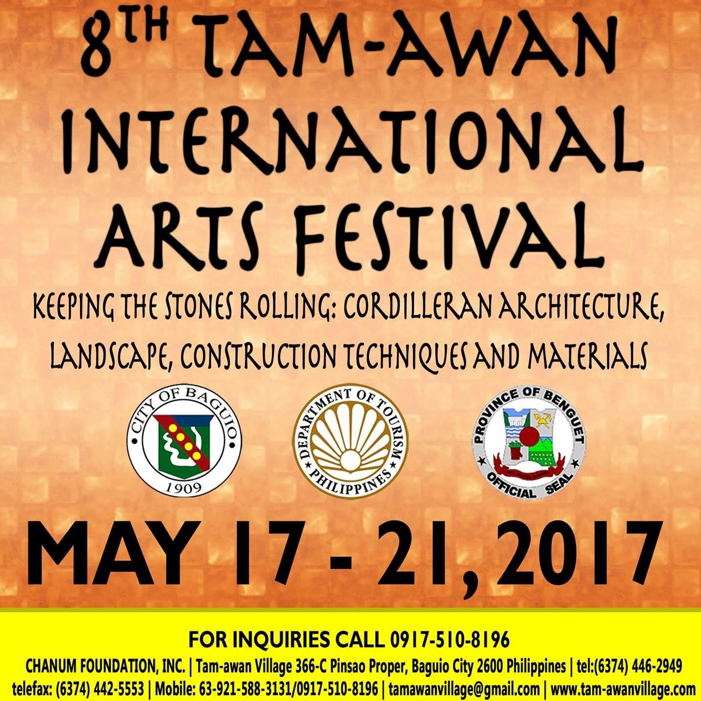 8th Tam-awan International Arts Festival Baguio City Cordillera Administrative Region Philippines