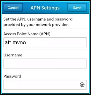 Black Wireless apn settings blackberry updated