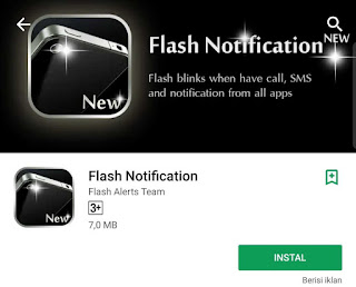 Aplikasi Lampu LED Untuk Notifikasi Terbaik di Android 2018