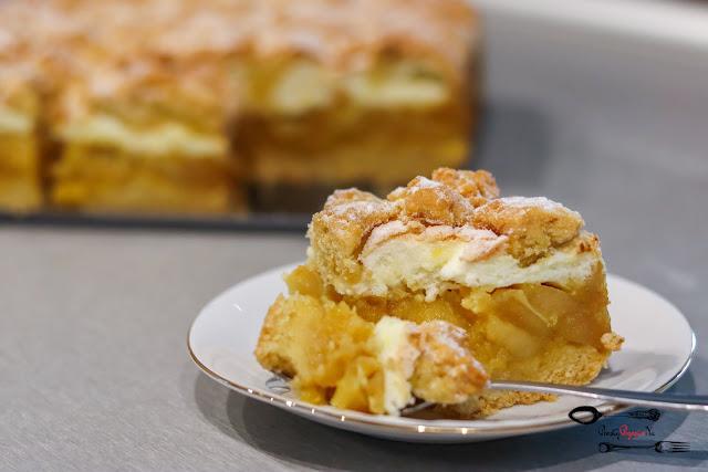 ciasta i desery, szarlotka, domowa szarlotka, ciasto z jabłkami, kruche z jabłkami, szarlotka na kruchym,