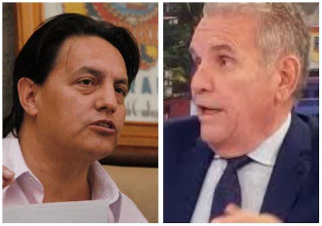 Fernando Villavicencio enjuicia a Santiago Cuesta