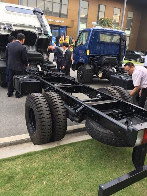 Sắt xi xe tải 110s mighty 7 tấn