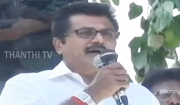 Good Governance in State should continue : Sarathkumar, AISMK Chief – Thanthi Tv