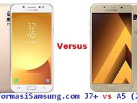 Samsung Galaxy J7+ vs A5 (2017) Harga dan Spesifikasi