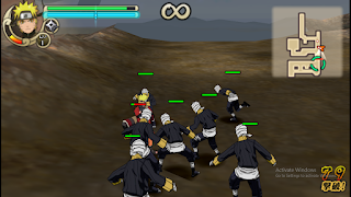 Naruto Shipuden The Hokage Highly Compressed PPSSPP ISO Android