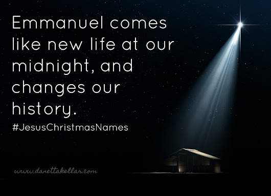 The Christmas Names of Jesus: Emmanuel
