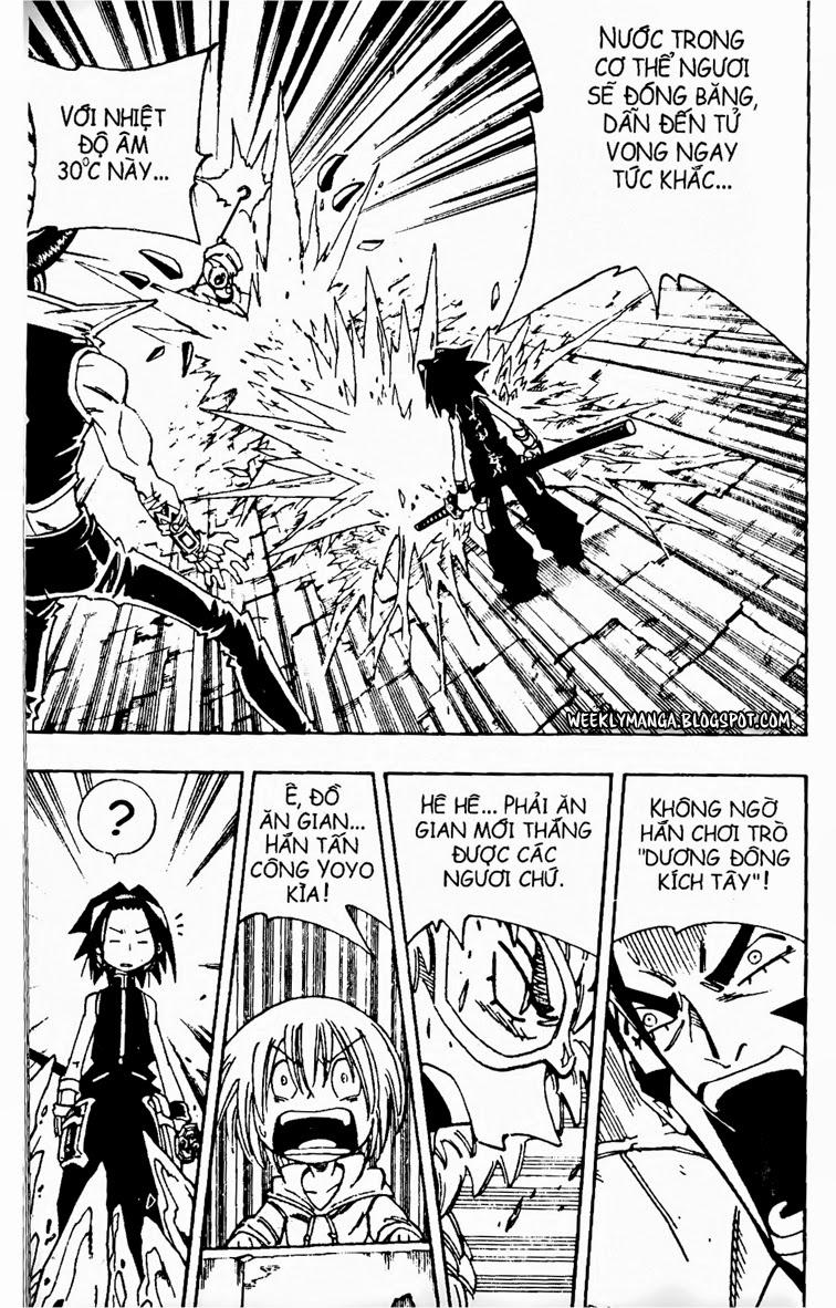 Shaman King [Vua pháp thuật] chap 131 trang 20