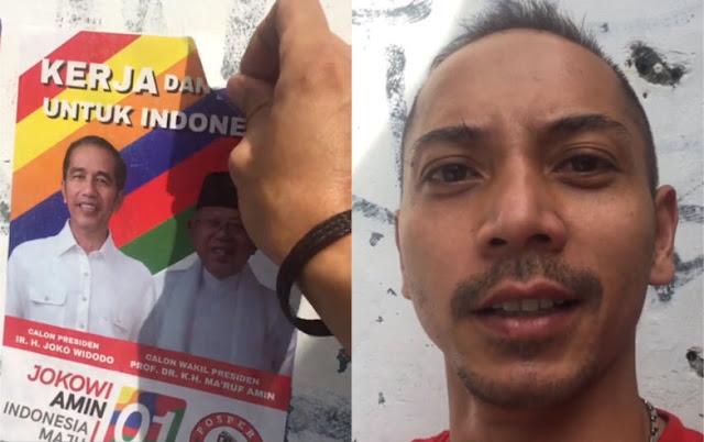 Bukan Cuma Cabut APK Jokowi di Rumahnya, Fauzi Baadila Juga Bisa Lapor