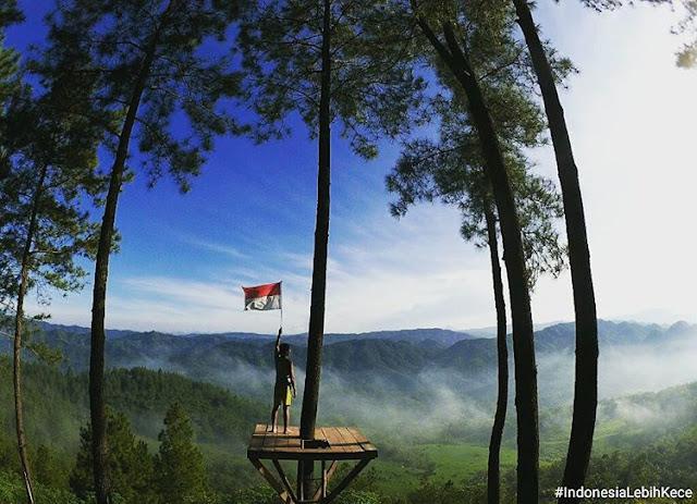 foto keren di bukit pentulu indah