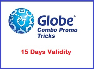15 Days Internet DATA Using Globe GOSAKTO Combo Promo