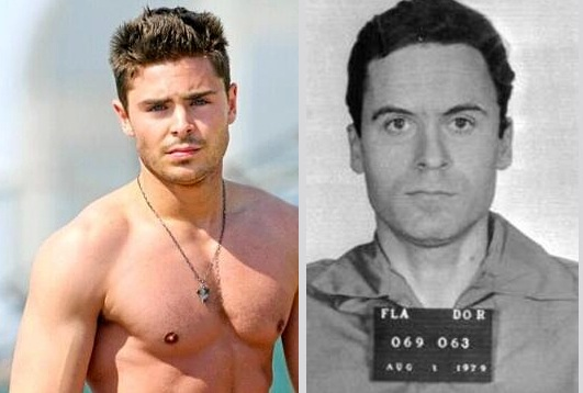 ZAC EFRON TO STAR AS TED BUNDY : SERIAL RAPIST AND KILLER