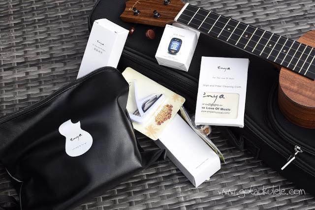 Enya EUS-X1 Ukulele accessory pack