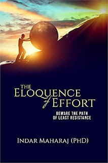 The Eloquence of Effort - a book on Self Development book promotion Indar Maharaj